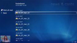 MCE RSS Reader screen1