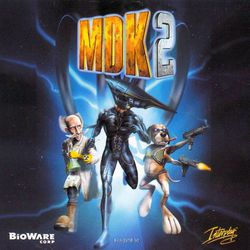 MDK 2 - artwork