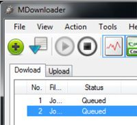 MDownloader screen1