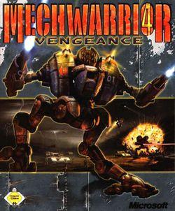 Mechwarrior 4 Vengeance - Jaquette