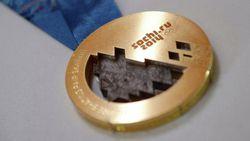 médaille or météorite russe