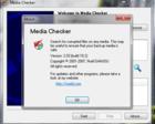 Media Checker : ouvrir un dispositif de stockage