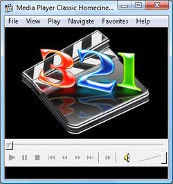 Media Player Classic Homecinema screen2