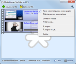 MediaHuman YouTube to MP3 Converter screen2