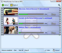 MediaHuman YouTube to MP3 Converter