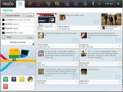 MeeGo interface
