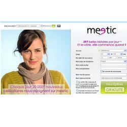 Meetic Logo Pro