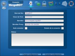 Mega Bot screen 2