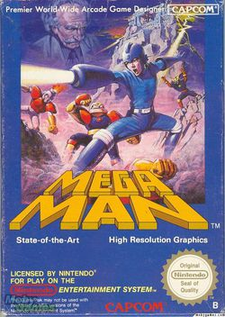 Mega Man   Pochette
