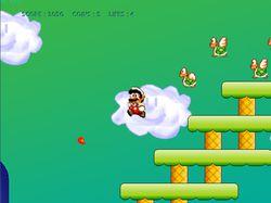 Mega Mario screen 1