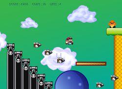 Mega Mario screen 2