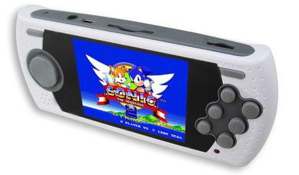 Megadrive portable Sonic 25 ans