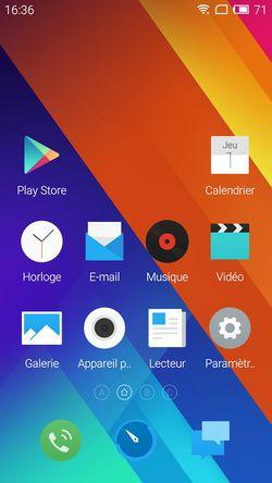 Meizu MX5 accueil 02