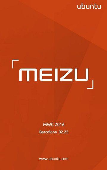 Meizu Ubuntu MWC 2016