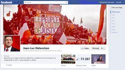 Mélenchon facebook