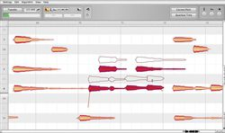 Melodyne Editor screen1