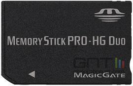 Memory stick pro hg