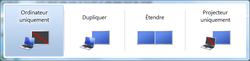 Menu affichage Windows 7