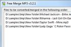Merge MP3 : fusionner des fichiers MP3 entre eux