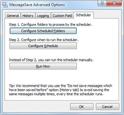 MessageSave screen1
