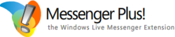 Messenger plus live logo
