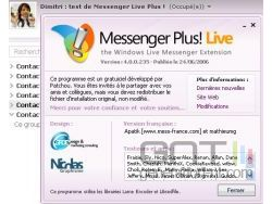 Messenger plus live small