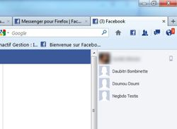 Messenger pour Firefox screen2