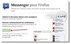 Messenger pour Firefox : échangez avec vos contacts Facebook depuis votre navigateur Firefox