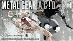 Metal Gear Acid   1