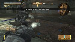 metal gear online bomb mission