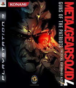Metal Gear Solid 4 jaquette