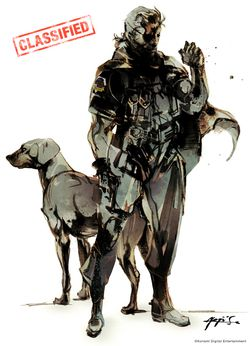 Metal Gear Solid 5 - artwork