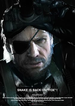 Metal Gear Solid Ground Zeroes - Snake