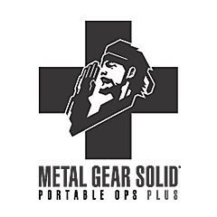 Metal gear solid portable ops plus logo