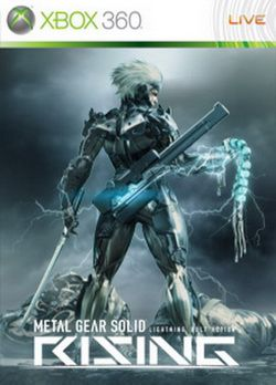 Metal Gear Solid Rising - Jaquette