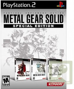 Metal Gear Solid : The Essential Collection   pochette
