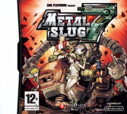 metal slug 7 jaquette