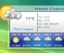 Meteo Fusion : connaitre le temps qu'il fera depuis son PC