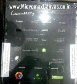 Micromax Canvas Duet 2 2