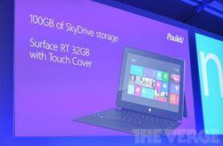 Microsoft Build Surface Lumia 920