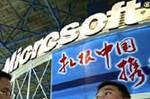 Microsoft en Chine