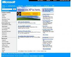 Microsoft-com-accueil-2001