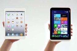 Microsoft iconia w3 ipad mini