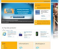 Microsoft-nouvelle-homepage-entreprise