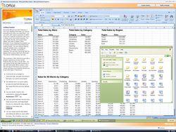 Microsoft Office 2007 Service Pack 2 screen