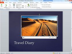microsoft Office_PowerPoint_2010 screen