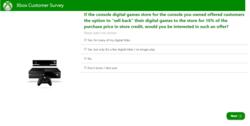 Microsoft sondage revente jeux video