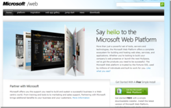 Microsoft Web Platform Installer screen 2