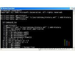 Microsoft windows powershell capture ecran small