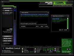 Mindlink Hacker 2012 screen1